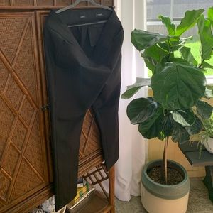 LOFT Marissa skinny black pants
